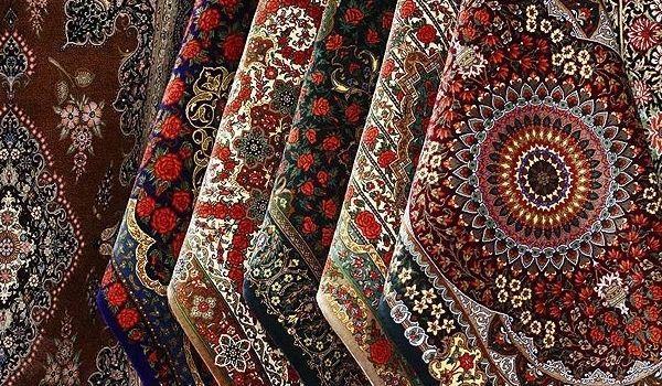 Iran hand-woven carpet