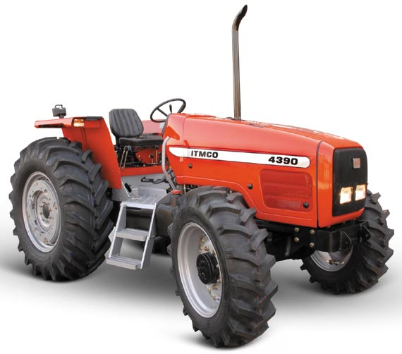 Tractors made in Iran