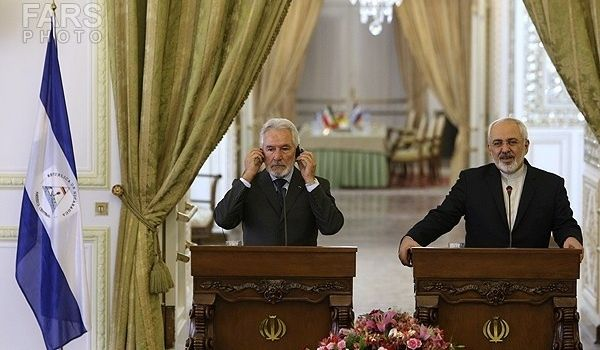 Iran - Nicaraguan - Mohammad Javad Zarif-Samuel Santos Lopez