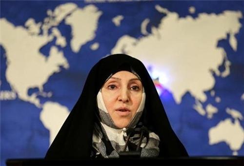 Iranian Foreign Ministry Spokeswoman Marziyeh Afkham