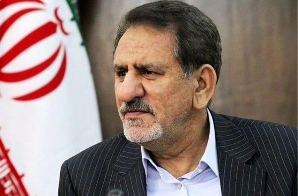 vice- president , eshagh jahangiri