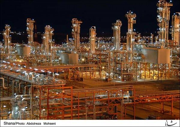 Iran - south pars gas field