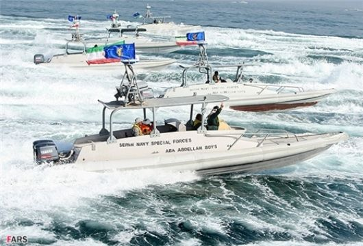 Iran Speed Vessels - IRGC