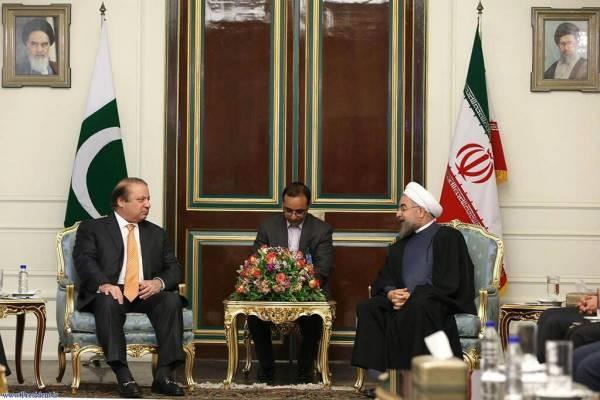 Rouhani ad Nawaz Sharif