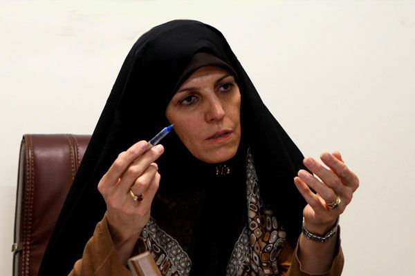 Vice-President in Iran - Women and Family Affairs Shahindokht Mollaverdi