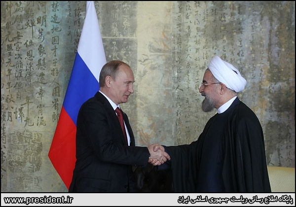 rouhani and putin meeting in china