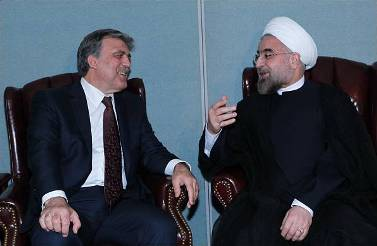Gül and Rouhani in turkey