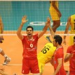 Iran and Brazil Valleyball match in Brazil