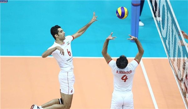 X Iran in Volleyball World League