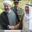 Iran president-Kuwaiti Emir Sheikh Sabah-