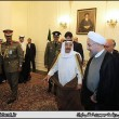Kuwait Emir Sheykh Sabah in Iran