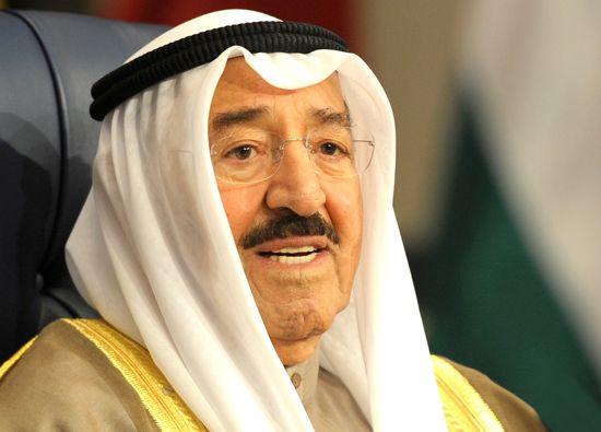 Kuwaiti Emir Sheikh Sabah al-Ahmad al-Jaber al-Sabah