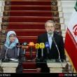 Larijani and singappore parliament speaker