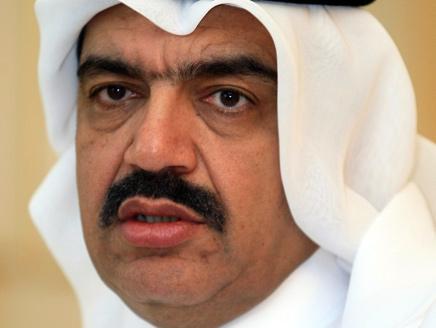 Qatari Foreign Minister Mohammad Bin Abdullah Bin Mutib al-Rumaihi