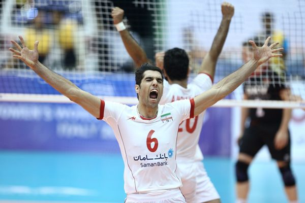 2014 FVIB Volleyball World league Iran Brazil