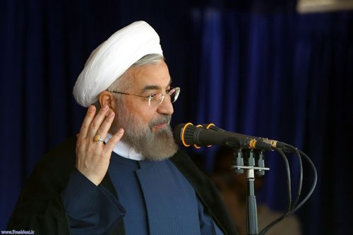 Presidnet Rouhani in khorramabad