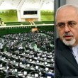 zarif in parliament