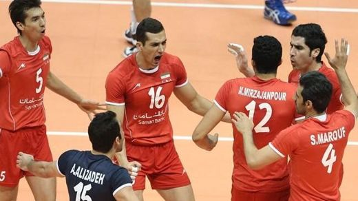 2014 Volleyball World League Iran Brazil FIVB
