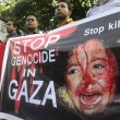 Worldwide protests against Israeli crimes in Gaza
