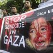 Worldwide protests against Israeli crimes in Gaza