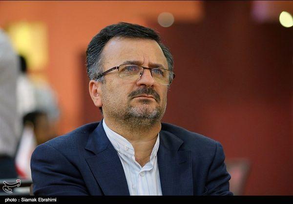 Mohammadreza Davarzani President of Iran Volleyball