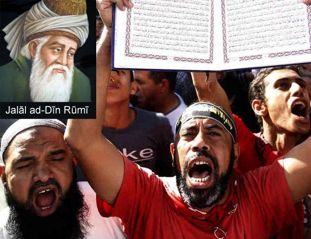 Mowlana Rumi and Salafism