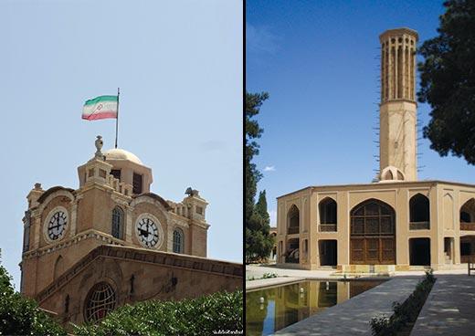 Iran tourism Yazd Tabriz