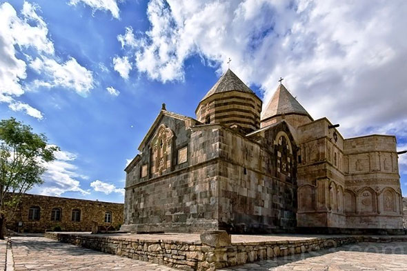 Saint Thaddeus Monastery or Ghara Kelisa – in West Azerbaijan, Iran