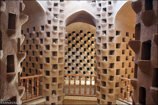Pigeon Houses, Iranian Architectural Elegance