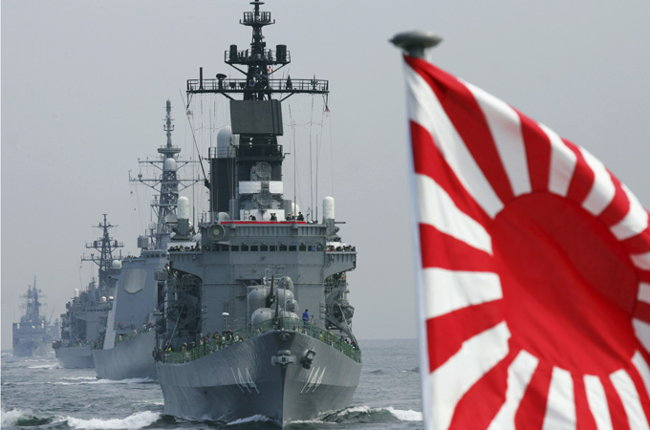 Japan returns to militarism as China's power grow