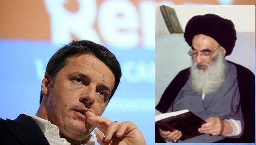 Matteo Renzi-Ayatollah Sistani