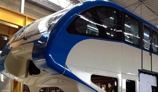 Iran-Qom's monorail