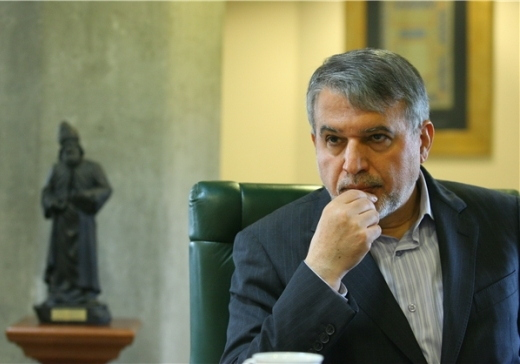 Seyyed Reza Salehi Amiri, the current director of the NLI