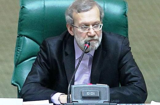 Ali Larijani-Iran Majlis speaker