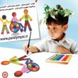 Iranian Children paint for disabled