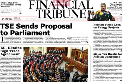 Financial Tribune newspaper-09-17