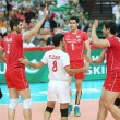 Iran Volleyball Team in FIVB 2104 Poland