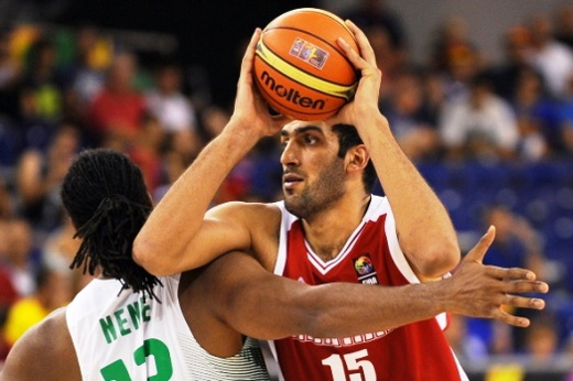 Iran Egypt Basketball
