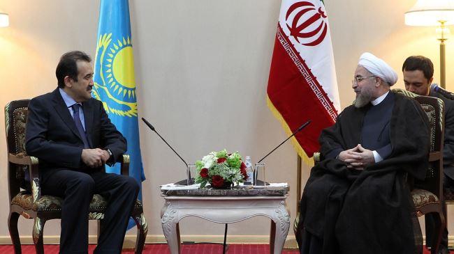 Iran-Kazakhstan-Rouhani