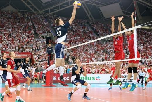 Iran Poland volleyball