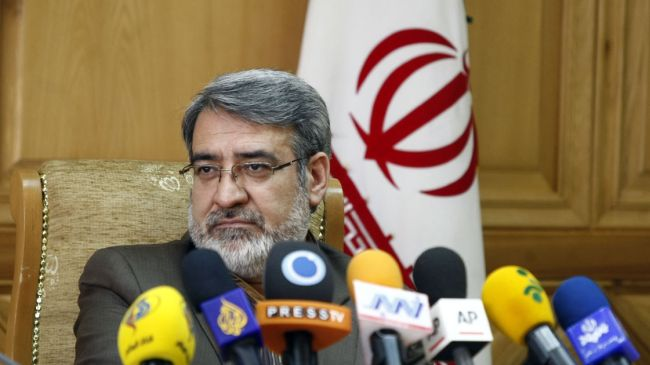 Iranian Interior Minister Abdolreza Rahmani-Fazli