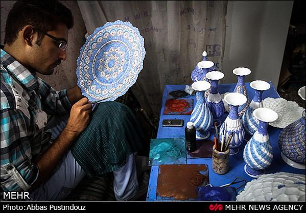 Iranian Art Enamel-4