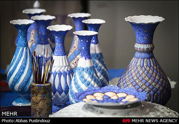 Iranian Art-Enamel