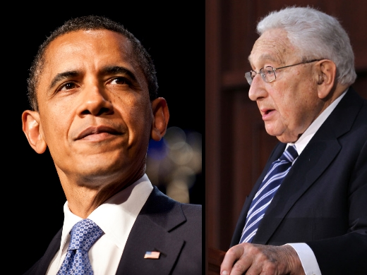 Obama and Kissinger