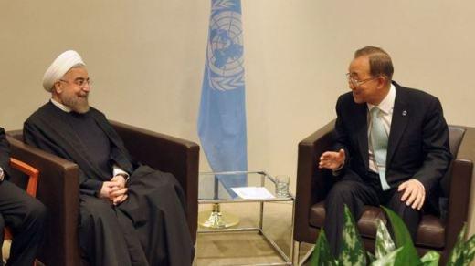 Rouhani-Iran-UN-Banki moonRouhani-Iran-UN-Banki moon
