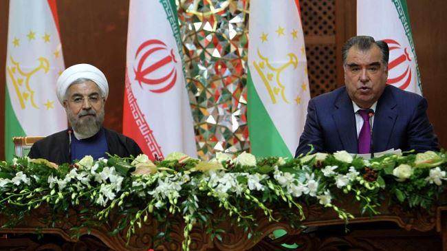 Rouhani- Emomali Rahmon
