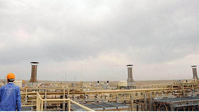 Iran-Gas Shourijeh facility