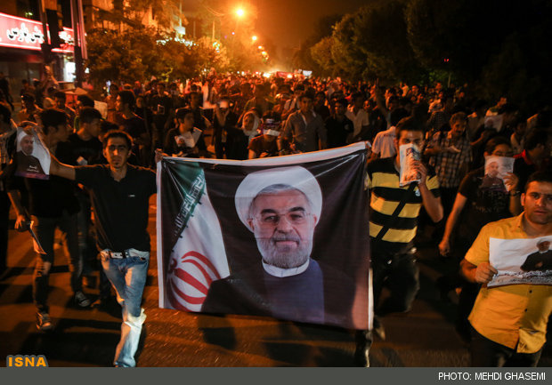 happiness after rouhani elected