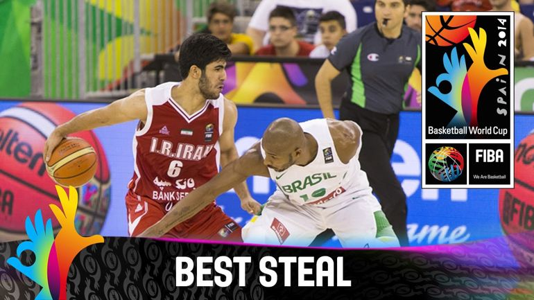 Iran vs Brazil Basketball Match FIBA WordCup SPAIN2014