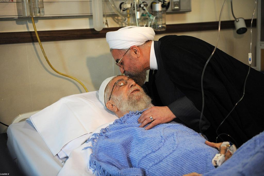 Supreme Leader Ali Khamenei in Hospital